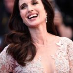 Andie MacDowell  nose job plastic surgery