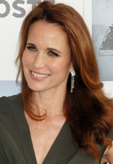 Andie MacDowell  nose plastic surgery