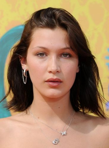 Bella Hadid Before Cosmetic Surgery