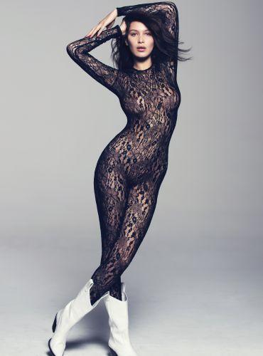 Bella Hadid Sexy Catsuit