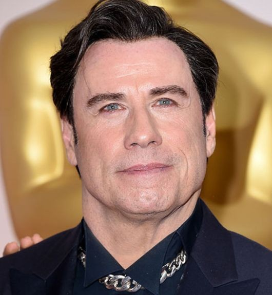 John Travolta hair Plastic Surgery