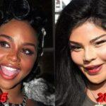 Lil Kim plastic surgery 2005-2015