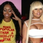 Blac Chyna nose job before and after