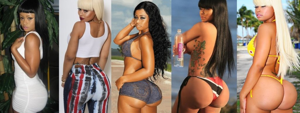 Has Blac Chyna had butt implants plastic surgery