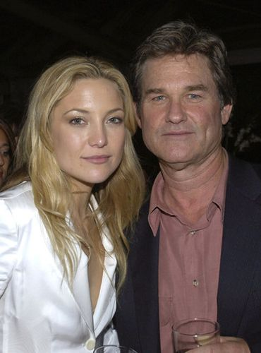 Kate Hudson and Kurt Russell