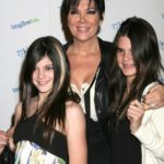Kendall Jenner with Mom and Sister