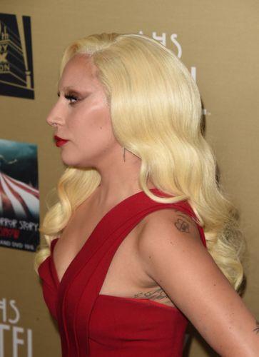 Lady Gaga After NoseJob Surgery