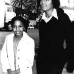 Michael Jackson Young with sister 150x150