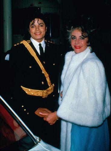 Michael Jackson and Elzabeth Taylor