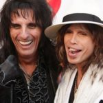 Steven Tyler and Alice Cooper