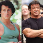 Sylvester Stallone Before and After Cosmetic Procedure