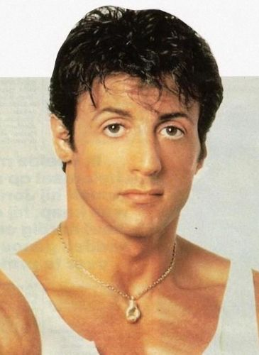 Sylvester Stallone Young Before Surgery