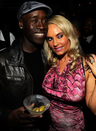 Coco Austin and Don Cheadle