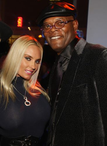 Coco and Samuel L. Jackson