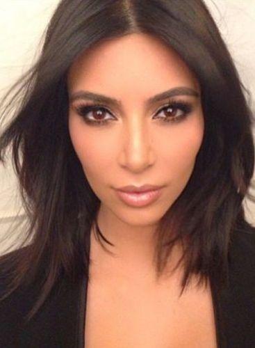 Kim Kardashian After Plastic Surgery