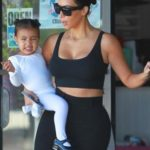 Kim Kardashian and North West 150x150