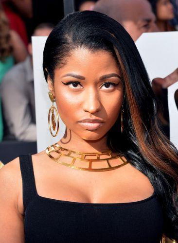 Nicki Minaj After Cosmetic Procedure