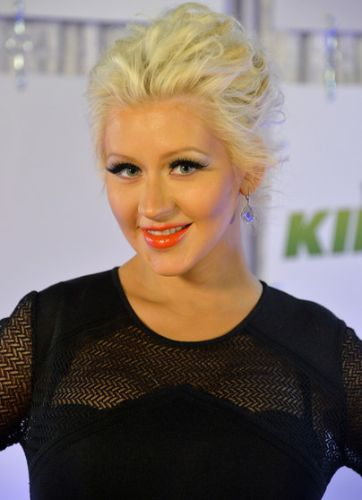 Christina Aguilera After Cosmetic Surgery