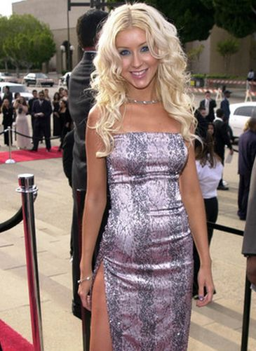 Christina Aguilera Before Cosmetic Surgery