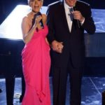 Christina Aguilera and Tony Bennett
