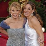 Joan Rivers and Melissa Rivers in 2005 before most plastic surgeries 150x150