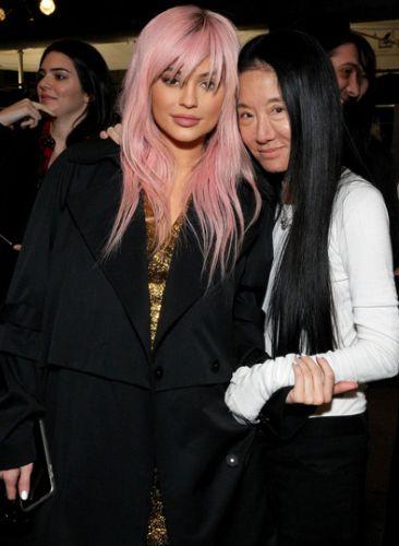 Kylie Jenner and Vera Wang