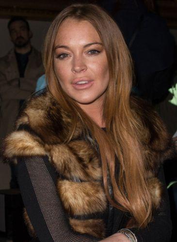 Lindsay Lohan After Facelift