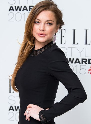 Lindsay Lohan Lip Job