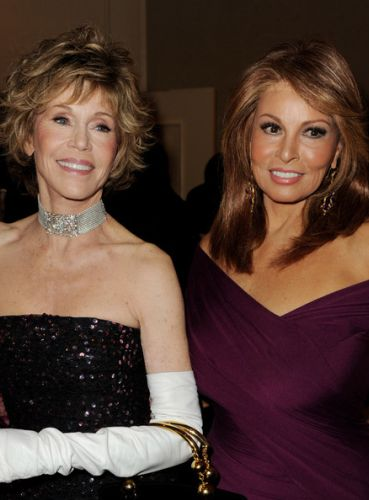 Raquel Welch and Jane Fonda
