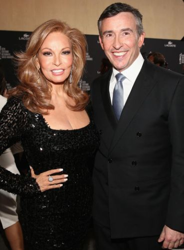 Raquel Welch and Steve Coogan