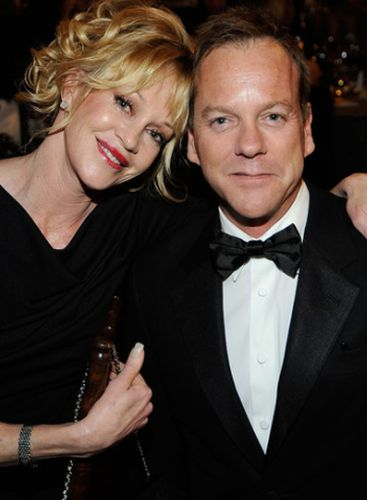 Melanie Griffith And Kiefer Sutherland