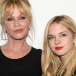 Melanie Griffith and Stella Banderas