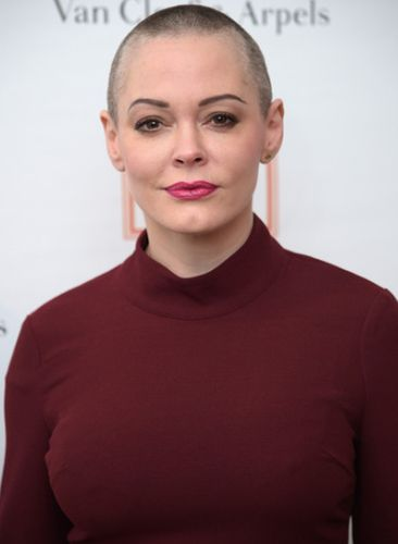Rose McGowan After Cosmetic Procedure