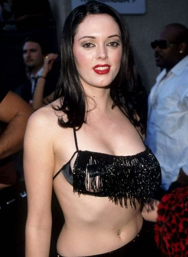 Rose McGowan Before Plastic Surgery