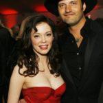 Rose McGowan and Robert Rodriguez