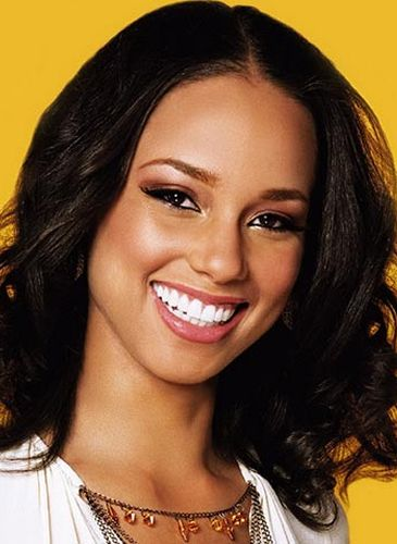 Alicia Keys Before Nose Job Surgery