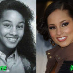 Alicia Keys Before and After Cosmetic Surgery 150x150