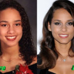 Alicia Keys Nose Job Before and After 150x150