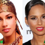 Alicia Keys Plastic Surgery Before and After