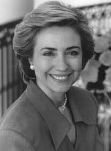 Hillary Clinton Before Cosmetic Surgery