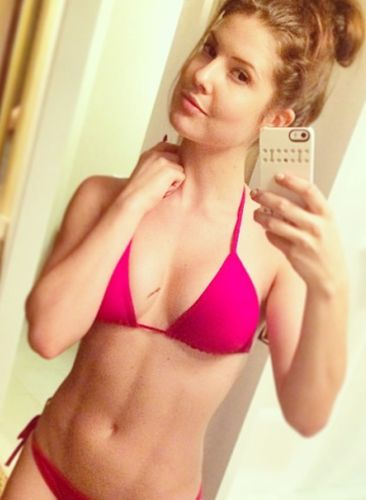 Amanda Cerny Before Cosmetic Surgery