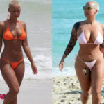Amber Rose Plastic Surgery Before and After 150x150
