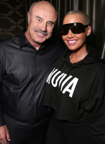 Amber Rose and Dr Phil