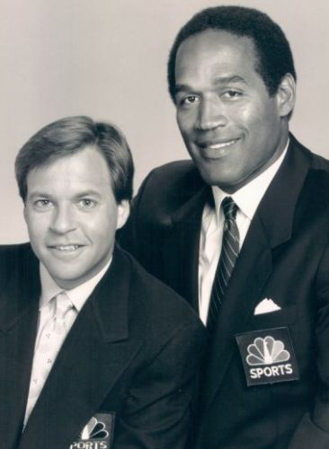 Bob Costas and OJ Simpson