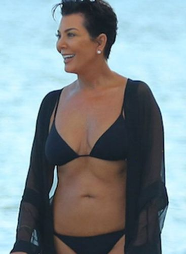Kris Jenner Swimsuit Photo