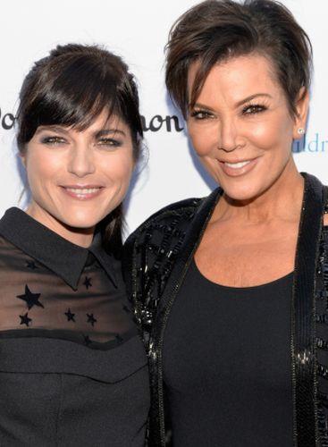 Kris Jenner and Selma Blair
