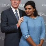 Mindy Kaling and Stephen Colbert 150x150