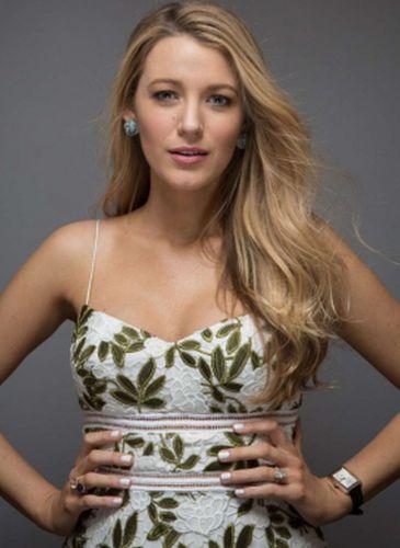 Blake Lively Fashion Photoshoot