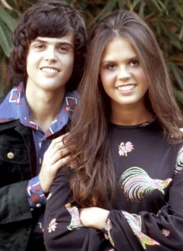 Marie Osmond and Donny Osmond Young