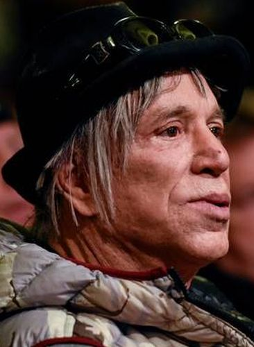 Mickey Rourke After Surgery Procedure